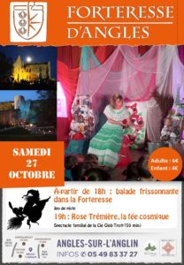 affiche halloween 2018 - Forteresse Angles